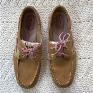 Sperry Topsider in Pink Gingham